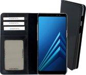 Mobiparts Excellent Wallet Case Samsung Galaxy A8 (2018) Jade Black