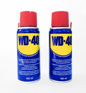 WD-40 Smeermiddel en roestoplosser - 2 busjes van 100 ml