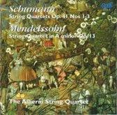 Schumann/Mendelssohn:Streichquartette