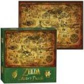 ZELDA - Puzzle The Legend of Zelda Hyrule Map x1