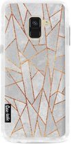 Casetastic Hard Case Samsung Galaxy A8 (2018) - Shattered Concrete