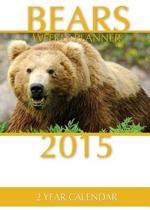 Bears Weekly Planner 2015