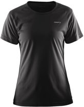 Craft Prime Tee W - Sportshirt - Dames - Maat XL - Zwart