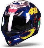 AGV K-3 SV Donkey Motorhelm Valentino Rossi VR46 - Integraalhelm - Maat M/L