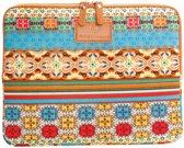 """#DoYourMobile - 14"""" Etui van canvas voor tablet of laptop - Beschermhoes - Draagtas - Design 1"""