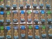 Uitdeelzakjes KLEIN - 50 stuks - Doopsuiker verpakking - Plastic Traktatie Zakje - Snoepzakje