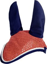 Oornet -Equestrian- rood/donkerblauw Pony
