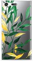 Sony Xperia XZ Premium Hoesje Watercolor Flowers