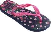 Havaianas Kids Flores Slipper Slippers - CONVERTMeisjesKinderen - Blauw/roze - Maat 29/30