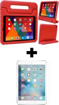 BTH iPad 5 Kinderhoes Kidscase Cover Hoesje Met Screenprotector - Rood