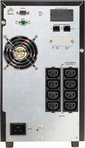 PowerWalker VFI 2000 CG PF1 UPS Dubbele conversie (online) 2000 VA 2000 W 8 AC-uitgang(en)