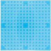 Strictly BRIKS LBP32TTT Bouwplaat 32x32 Transparant Lichtblauw