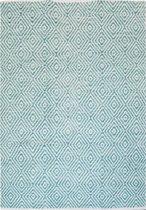 Kayoom - Vloerkleed - Tapijt - Aperitif 310 - Turquoise - 160x230cm