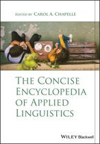 The Concise Encyclopedia of Applied Linguistics