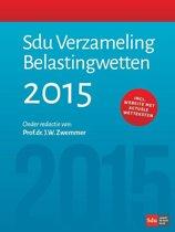 Sdu verzameling belastingwetten 2015