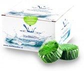 Starbluedisc Halfjaar verpakking Toiletblokjes Appel Groen 12stuks
