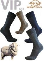 77% Merino Wollen Sokken L/R - 2 Paar