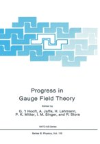 Progress in Gauge Field Theory