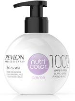 Revlon Nutri Color Creme fles 1002 white platinum 270ml