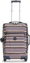 Kipling Darcey Handbagagekoffer - 55 cm - Multi Stripes
