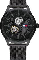 Tommy Hilfiger TH1791644 Horloge  - Staal - Zwart - Ø  44 mm