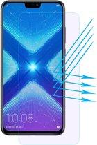 Let op type!! ENKAY Hat-Prins 0 26 mm 9H 2.5D Anti Blue-ray getemperd glas Film voor Huawei Honor 8 X