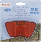 Techno Reflector Achterlicht - 3x led - Class 3 | Fiets licht | Fietsverlichting