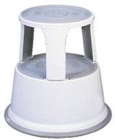 Opstapje, volgens EN 14183, plaatstaal, 4, 9 kg eigen gewicht, H 440 mm