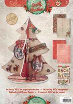 DIY Kerst Boom MDF Pakket - Lovely Christmas - Maak je eigen houten Kerstboom.