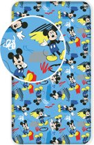 Disney Mickey Mouse Hey Hoeslaken - Eenpersoons - 90x200 cm - Multi
