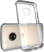 Hybrid Armor Case - Motorola Moto G5 - Transparant