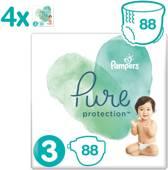 Pampers Pure Protection Luiers - Maat 3 (6-10 kg) - 88 stuks - Maandbox