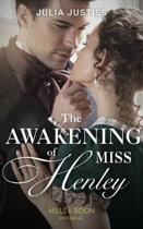The Awakening Of Miss Henley (The Cinderella Spinsters, Book 1)