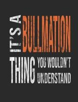 It's a Bullmation Thing You Wouldn't Understand
