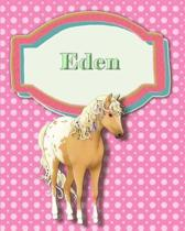 Handwriting and Illustration Story Paper 120 Pages Eden