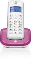Motorola T201 Violet DECT Telefoon