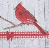 Servetten Cardinal 25 x 25 cm