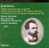 The Romantic Violin Concerto - 3: Hubay, Violin Co