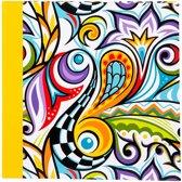 GOLDBUCH GOL-17235-GE insteekalbum POP ART geel voor 200 foto's