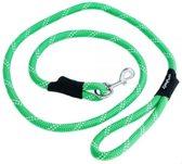 Zippypaws hondenriem touw groen