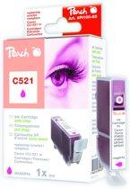 Peach C521 - Inktcartridge Canon CLI-521 - Magenta