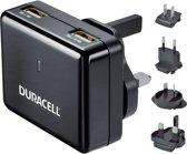 Duracell DR6001A oplader voor mobiele apparatuur Binnen Zwart