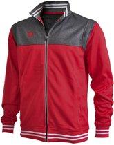 Brabo Tech Jacket  Trainingsjas - Maat M  - Mannen - rood