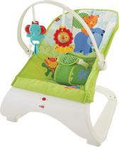 Fisher Price - Rainforest Friends Comfort Curve Bouncer -Toys