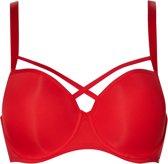 Sapph Fabulous Voorgevormde Beha Dames Beha - Rood - Maat 85D