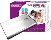 Eminent EM7042 Portable 2.5'' Harddisk Enclosure IDE 2.5'' Grijs