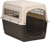 Petmate Ultra Transportbox  Vari kennel -Max. gewicht hond 40.8 kg., W 69cm x 101cm L x H 76cm