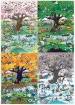4 Seasons, Blachon - Legpuzzel - 2000 Stukjes