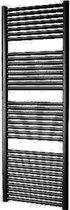 Designradiator Plieger Palermo 170,2x60cm 921 Watt Zwart Zijaansluiting
