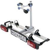 MovaNext Lux - Fietsendrager - 2 Fietsen - Trekhaak - Duostekker 7 en 13 Polig - Opklapbaar